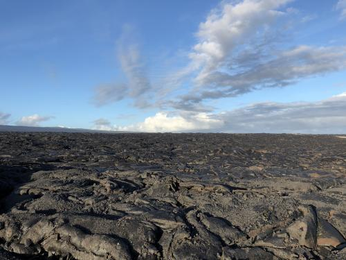 Lava viewing area Kilauea