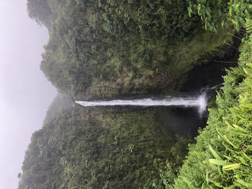 Akaka Wasserfall