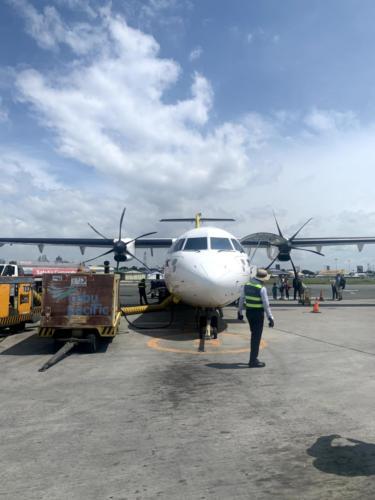 Flugzeug Airport Coron