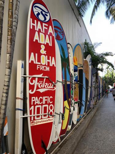 Surfboard Waikiki