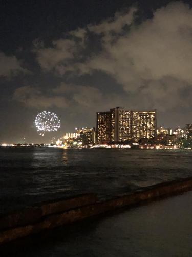 Feuerwek Waikiki Beach