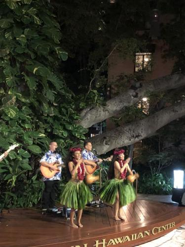 Hula Show - Royal Hawaiian Center