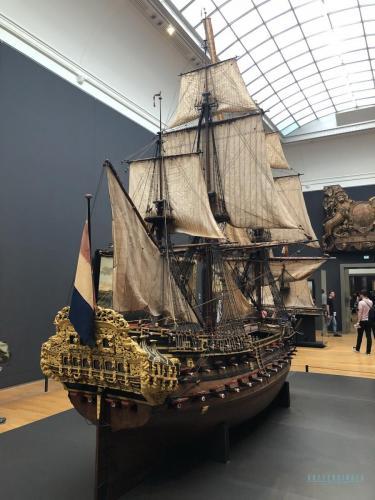 Rijksmuseum Schiff