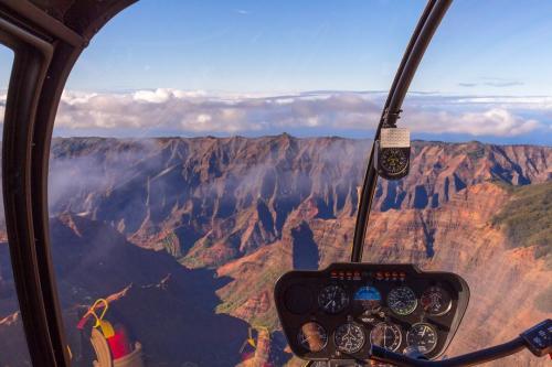 Helikopterflug über Kauai